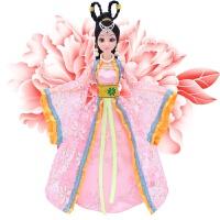 芭比中国古装古代衣服大礼盒套装公主换装洋娃娃仙子女孩