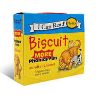 Biscuit More Phonics Fun小饼干-自然发音法2(I Can Read,My Fist Level