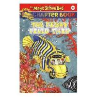 英文原版Magic School Bus Chapter Book #18, The: Fishy Field Tri