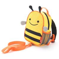美国skip hop幼儿园宝宝书包儿童双肩背包带牵引绳书包防走失包