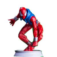 漫威蜘蛛侠猩红黑色蜘蛛侠玩具模型公仔摆件散货