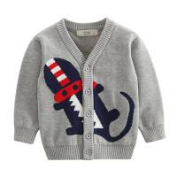 儿童毛衣男孩开衫 婴幼儿针织衫宝宝毛线衣外套春秋新款