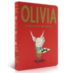 【顺丰速运】英文原版进口 Olivia Helps with Christmas 奥莉薇的圣诞节 Merry Chri