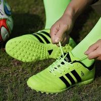 儿童足球鞋男碎钉小学生训练鞋人造草地AG钉比赛球鞋tf女钉鞋
