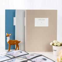 得力相册本家庭纪念册本大容量5寸6寸相册宝宝相册插页式照片册影集收纳册