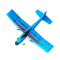 遥控飞机小型战斗机F16航模飞机SU35遥控滑翔机固定翼儿童玩具 807蓝色 一块电池收藏送