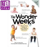 【中商原版】揭示宝宝每周成长指南 The Wonder Weeks: A Stress-Free Guide to Y