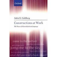 【预订】Constructions at Work: The Nature of Generalization