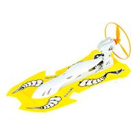 电动水陆两栖快艇空气动力拼接轮船模型玩具儿童轮船模型玩具新乘风号