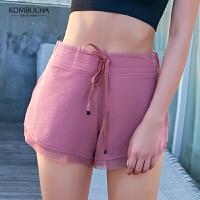 【女神特惠价】Kombucha瑜伽健身短裤女士亲肤柔软速干透气运动休闲短裤JCDK655