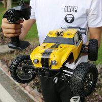 遥控车越野车四驱1:12电动大脚车汽车模型玩具车