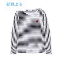 童装女童长袖T恤中大童儿童春装2018新款打底衫套头上衣