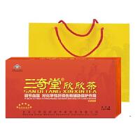 三奇堂欣欣茶调节血脂2.2g*108袋礼盒保健茶 (原三奇堂养生健肝茶)