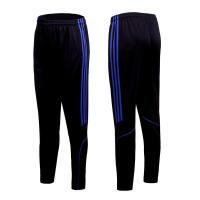 夏季薄款足球裤训练裤男跑步裤紧身健身小脚裤运动长裤收腿裤