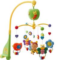 婴儿床铃音乐玩具0-1岁新生儿宝宝床头旋转摇风铃3-6-12个月挂件