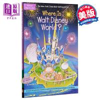 【中商原版】迪士尼乐园在哪里?英文原版 Where Is Walt Disney World? 主题公园 少儿百科 8