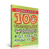 英文原版图书100 WORDS Vocabulary Words Kids Need to Know by 5th G
