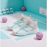 【券后预估价:119】361璎琉篮球鞋女2021春季新款高帮篮球减震球鞋学生运动鞋战靴女