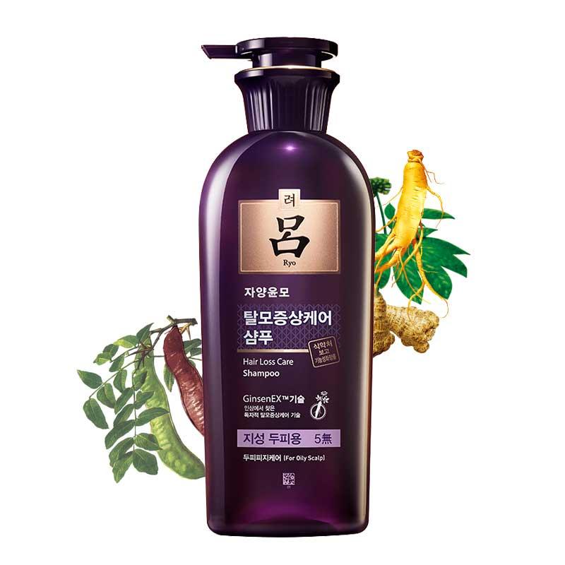 吕(RYOE)紫吕 洗发水护发系列 去屑去油滋养柔顺无硅油洗护 紫吕油性发质400ml单瓶