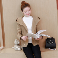 毛呢外套女士2018秋冬季韩版新款显瘦时尚百搭短款羊毛呢子大衣潮