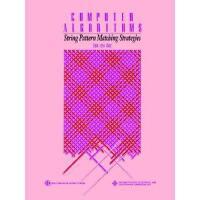 【预订】Computer Algorithms: String Pattern Matching