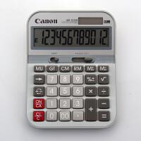 Canon佳能 WS-1212G计算器 中号 太阳能 金属面板计算机
