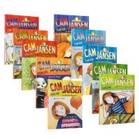 【全店300减100】初级章节书Cam Jansen侦探故事 10本套装 英文原版进口章节书 The Mystery o