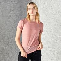 【下单即享7折优惠】TFO 2019新款舒适冰感面料 不起皱垂感好 女士速干短袖短袖T恤
