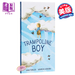 【中商原版】Marion Arbona:蹦床的男孩 Trampoline 精品绘本 故事书 求同存异 观点的包容性 3