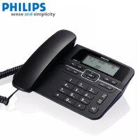 【当当热销】新版双接口飞利浦(PHILIPS)CORD118 免电池 来电显示电话机/家用座机/办公座机