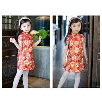 女童旗袍裙春夏季儿童唐装中国风宝宝连衣裙中式童装