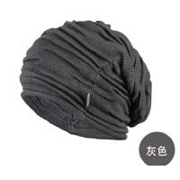 时尚秋冬季男女毛线帽韩版潮针织帽丝光棉帽子街舞嘻哈帽