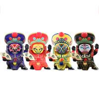 变脸娃娃 脸谱儿童玩具川剧玩偶中国风传统特色礼物创意小礼品送老外出国外事新年礼物