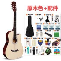 2019070203451361438寸初学者吉他男女生通用自学生新手学生练习入门吉他全套原木色民谣