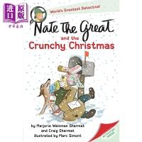 【中商原版】小侦探内特:圣诞节 Nate the Great 儿童文学 桥梁书 章节书 7~12岁 英文原版 带插图儿童