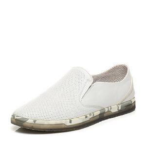 Belle/百丽专柜同款夏季时尚休闲男单鞋4LA02BM6