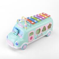 儿童智力八音手敲琴婴儿幼儿小孩男孩女孩玩具6个月1-2-3岁小木琴