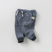戴维贝拉2019秋季新款男童裤子宝宝休闲长裤DB9921