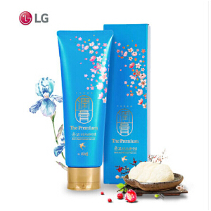 LG韩国润膏无硅油蓝色金丝燕窝洗护二合一洗发水*250ml