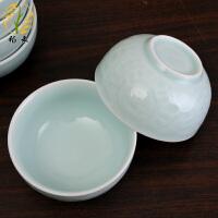 中式简约清新陶瓷餐具瓷器瓷碗汤碗面家用