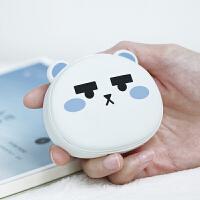 暖手宝|充电宝两用usb情人节生日礼物电热饼小移动电源