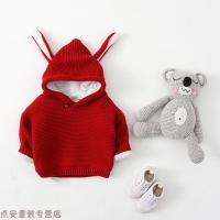 冬季2018春秋装韩版女宝宝毛衣男童套头幼儿针织衫婴儿外套0-1-2-3岁秋冬新款 丨加绒加厚