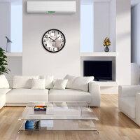 个性时尚挂钟客厅卧室创意静音简约现代大号时钟石英钟表挂表