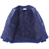 童装男童外套加绒加厚秋冬装新款韩版儿童皮衣夹克中大童上衣