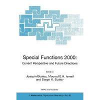 【预订】Special Functions 2000: Current Perspective and
