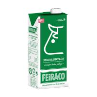 圣典牛头超高温灭菌部分脱脂牛奶西班牙进口纯牛奶1L*6