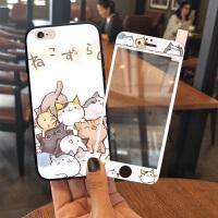 苹果6s手机壳女款iphone6全包防摔7个性创意8硅胶plus可爱X仙女潮