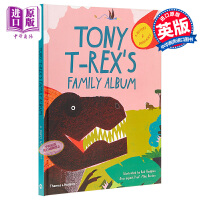 【中商原版】暴龙东尼的家族相簿 英文原版 Tony T-Rex's Family Album 精装