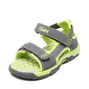 奥思文OSWIN 鞋柜男童凉鞋小男孩休闲鞋 耐磨防滑儿童夏季沙滩鞋