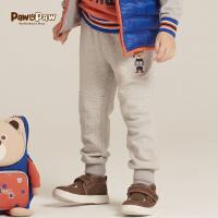 【1件4折 2件3折 到手价:119】Pawinpaw宝英宝卡通小熊童装17年冬季款男童卫裤PCTM74911M